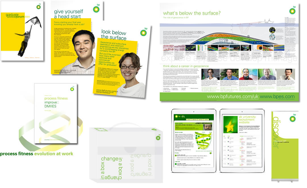 bp internal comms & ads