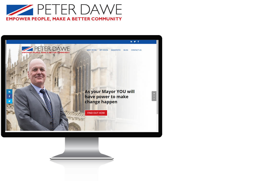 peter dawe for mayor