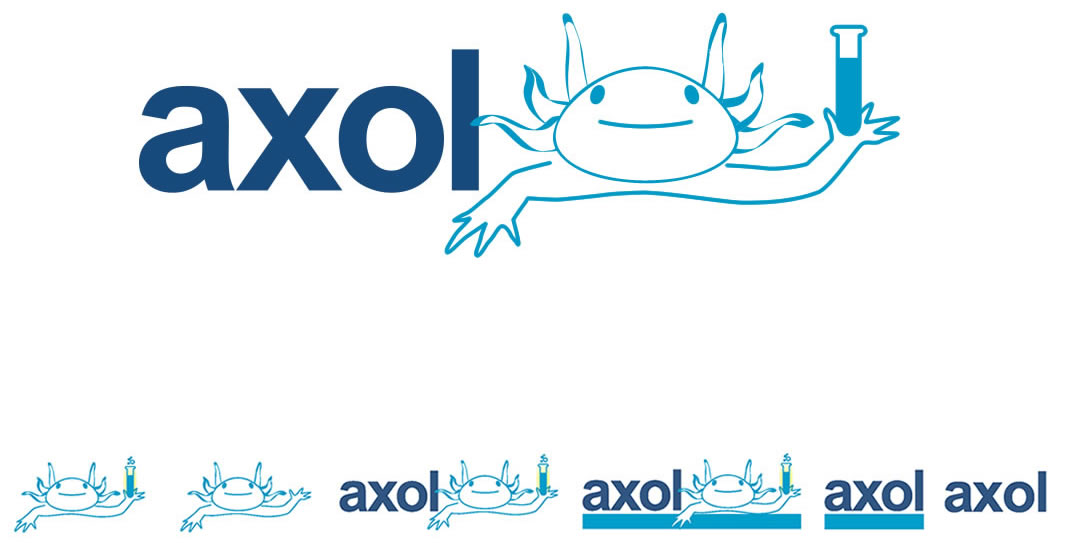 axol logo design
