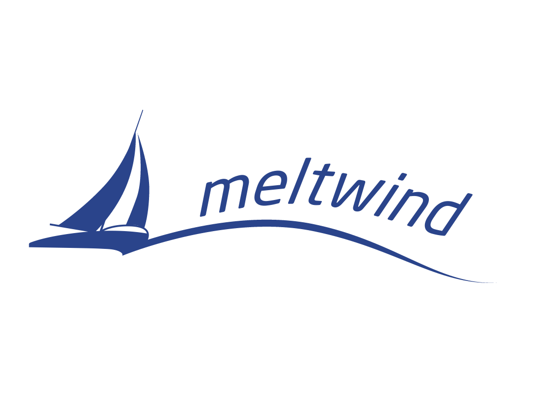 meltwind logo design