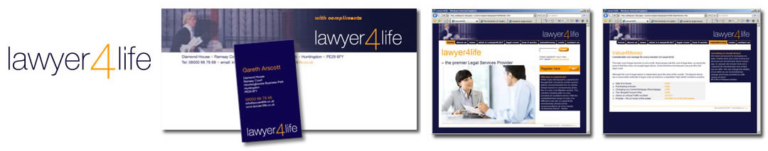 lawyer4life logo and website