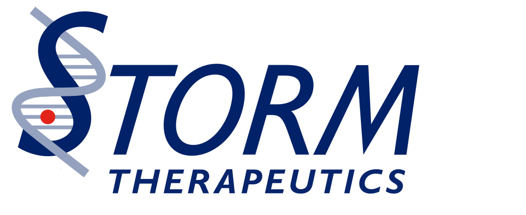 Storm Therapeutics logo design