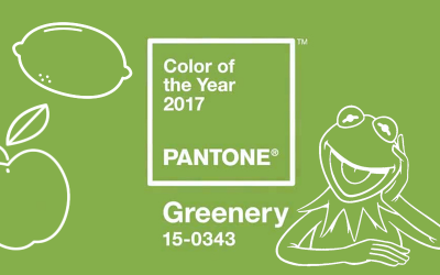 Pantone colour of the year – Greenery