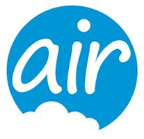 air broadband logo design
